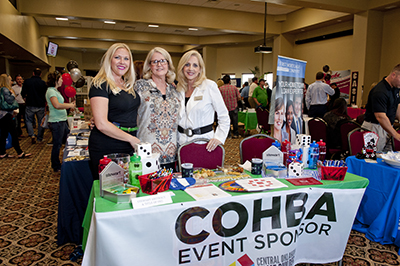 COHBA event sponsors table for Oklahoma City home builders