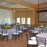 corporate event venue setting in OKC