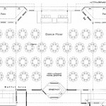 Room map layout of an event center in OKC