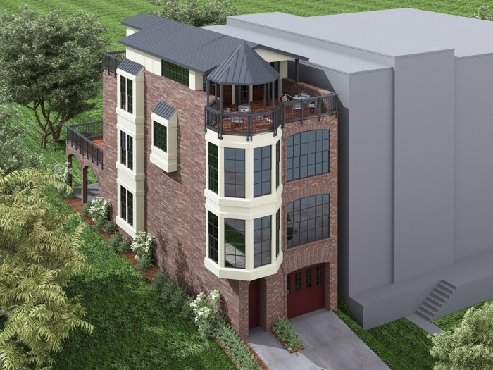 Ron Walters Homes- Firehouse concept Deep Deuce
